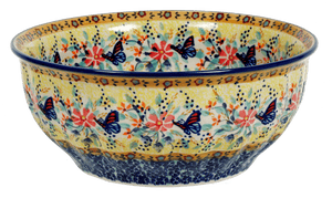 "9"" Bowl  (Butterfly Bliss)"
