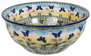 "9"" Bowl (Butterflies in Flight)"