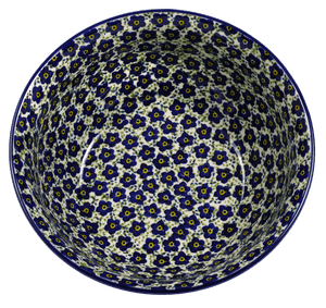 "9"" Bowl (Floral Revival Blue)"