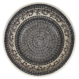 "11"" Bowl (Duet in Black & Grey)"