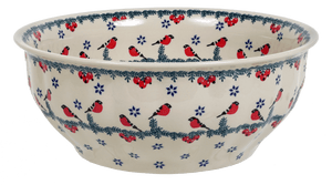 "11"" Bowl (Red Bird)"