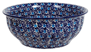 "11"" Bowl (Blue on Blue)"
