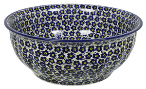 "11"" Bowl (Floral Revival Blue)"