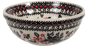 "6"" Bowl  (Duet in Black & Red)"