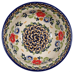"6"" Bowl (Basket of Blossoms)"