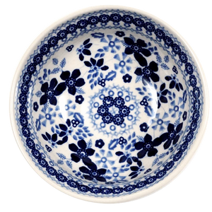 "6"" Bowl (Duet in Blue)"