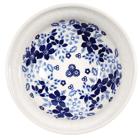 "6"" Bowl (Duet in Blue & White)"