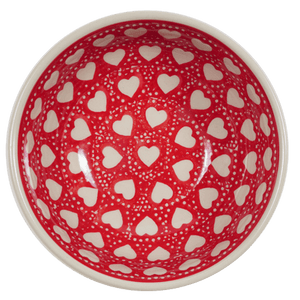 "6"" Bowl (Torrent of Hearts Red)"