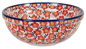 "6"" Bowl (Floral Revival Red)"