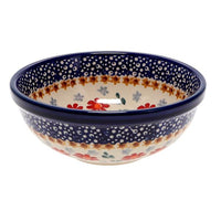 "6"" Bowl  (Red Daisy Daze)"