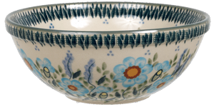 "6.75"" Bowl  (Baby Blue Blossoms)"