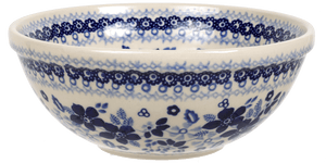 "6.75"" Bowl (Duet in Blue)"