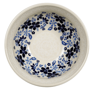 "6.75"" Bowl  (Duet Blue Wreath)"
