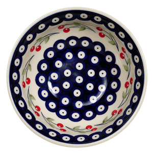 "6.75"" Bowl  (Cherry Dot)"