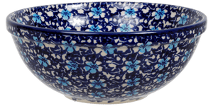 "6.75"" Bowl (Blue on Blue)"