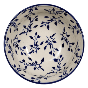 "6.75"" Bowl  (Blue Spray)"