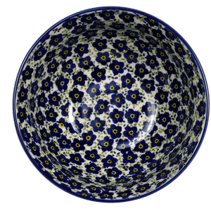 "6.75"" Bowl (Floral Revival Blue)"
