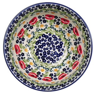 "6.75"" Bowl (Poppy Parade)"