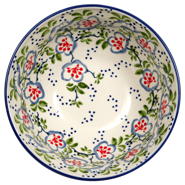 "6.75"" Bowl  (Flowers & Lace)"
