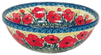 "9.5"" Bowl (Poppies in Bloom)"