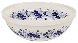 "9.5"" Bowl (Duet in Blue & White)"
