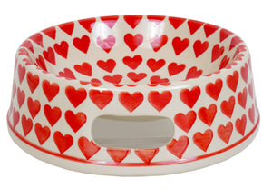 Large Dog Bowl (Whole Hearted Red)