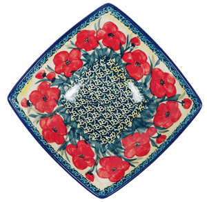Medium Nut Dish (Poppies in Bloom)