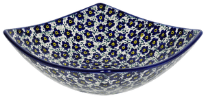 Medium Nut Dish (Floral Revival Blue)