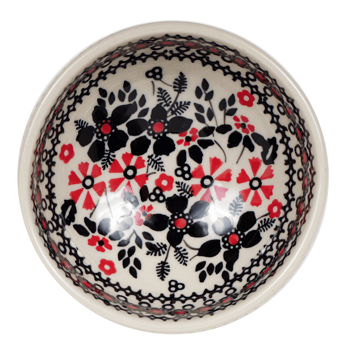 Dipping Bowl (Duet in Black & Red)
