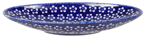 Small Oblong Serving Bowl (Modern Blue)