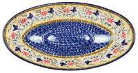 Large Oblong Serving Bowl (Butterfly Bliss)