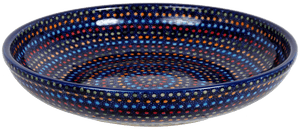 "11.75"" Shallow Salad Bowl (Neon Lights)"