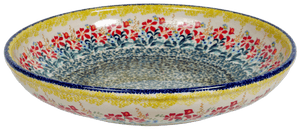 "11.75"" Shallow Salad Bowl (Sunshine Blossoms)"