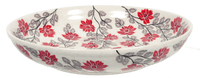 "11.75"" Shallow Salad Bowl (Evening Blossoms)"