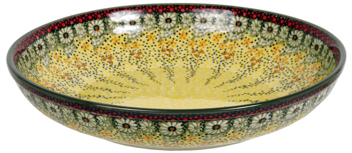 "11.75"" Shallow Salad Bowl (Sunshine Grotto)"