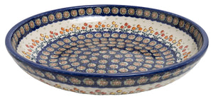 "11.75"" Shallow Salad Bowl (Floral Spray)"
