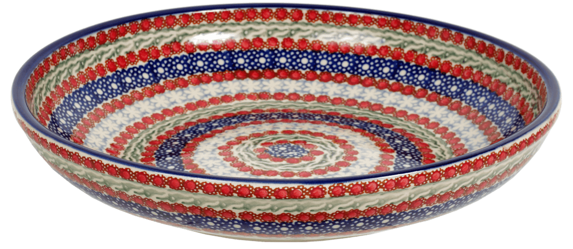"11.75"" Shallow Salad Bowl (Fanfare)"