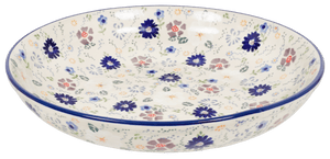 "11.75"" Shallow Salad Bowl (Scattered Petals)"