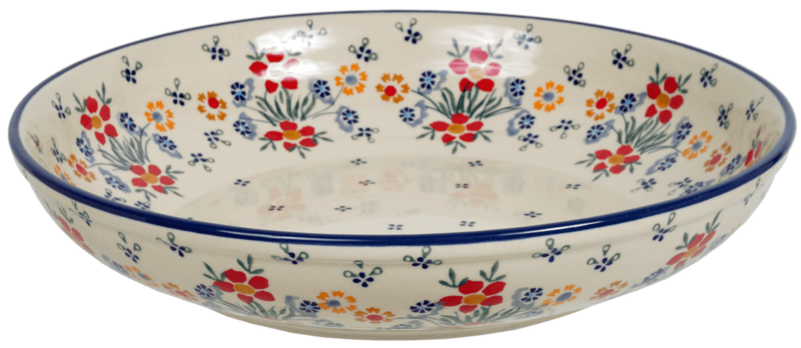 "11.75"" Shallow Salad Bowl (Fresh Flowers)"