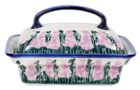 Butter Dish (Lavender in Bloom)