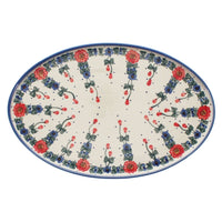 "13.5"" x 8.75"" Oval Platter (May Day) 