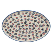 "13.5"" x 8.75"" Oval Platter (Bee's Knees) 