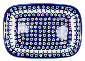 Rectangular Serving Platter (Peacock)