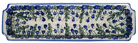 Long Rectangular Tray (Blue Cascade)