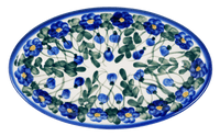 Medium Oval Dish (Blue Cascade)