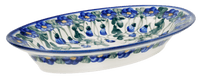 Large Oval Dish (Blue Cascade)