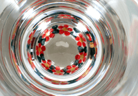 Beer Glass (Red Lattice)