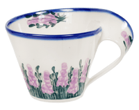 Curved-Handle Mug (Lavender in Bloom)