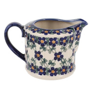 Creamer (Blue Lattice)