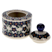 Sugar Bowl (Blue Lattice) | NDA76-6